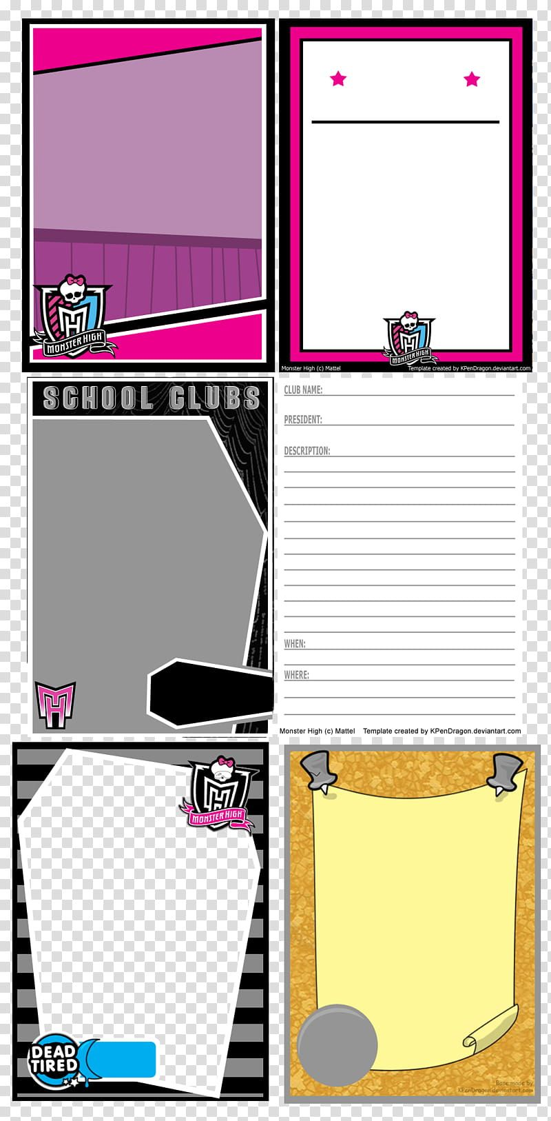 Mh Card Templates Transparent Background Png Clipart In 2020