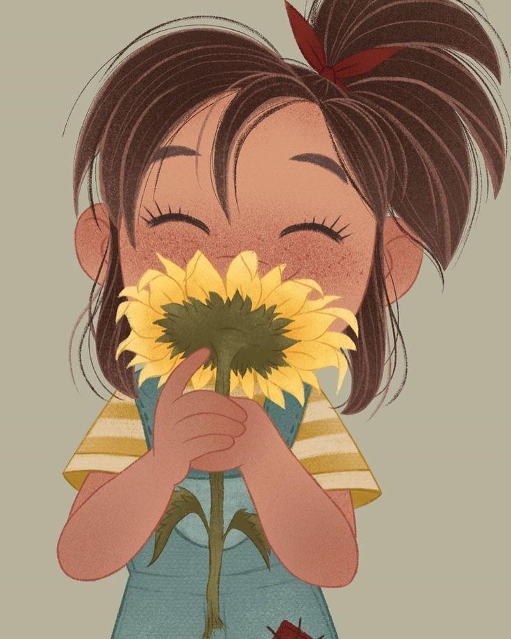 Sunflower Con Imagenes Dibujos Bonitos Dibujos Animados
