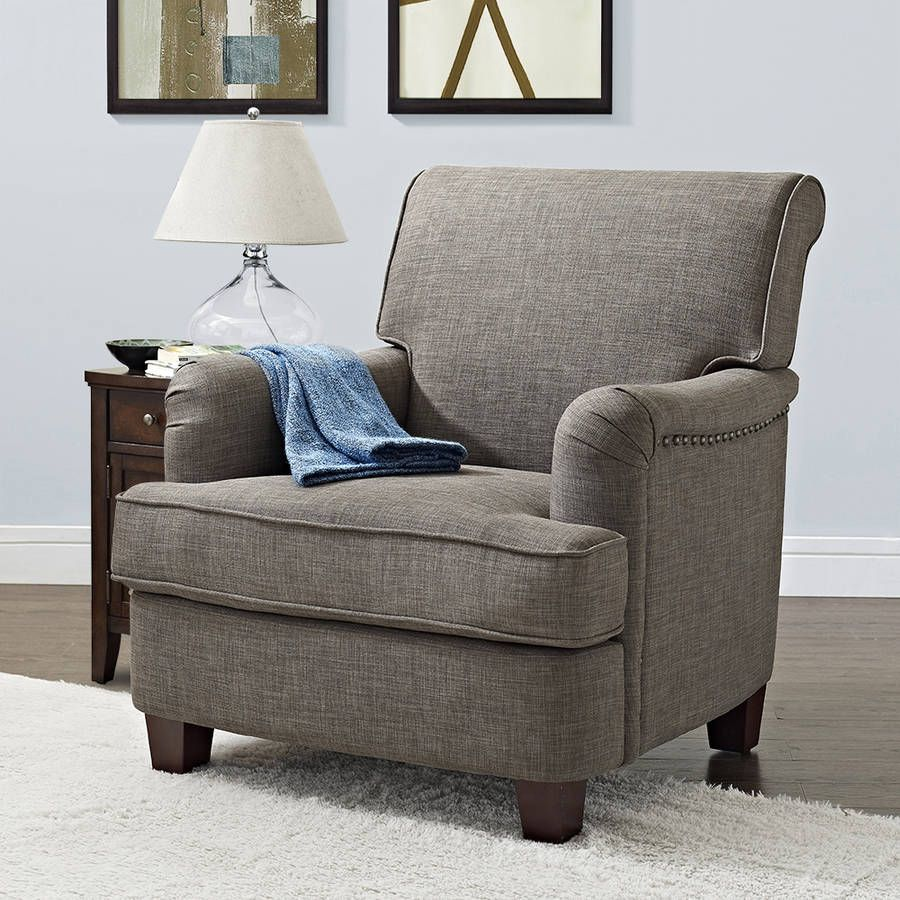 better homes and gardens grayson rolled top club chair with