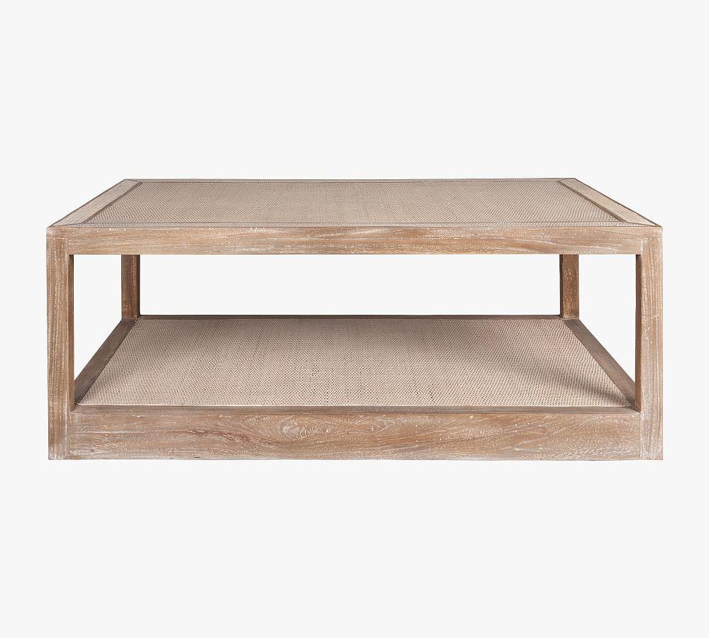 Burnaby 52 Rattan Rectangular Coffee Table White Wash In 2021 Coffee Table Coffee Table Pottery Barn Rattan Coffee Table [ 900 x 1000 Pixel ]