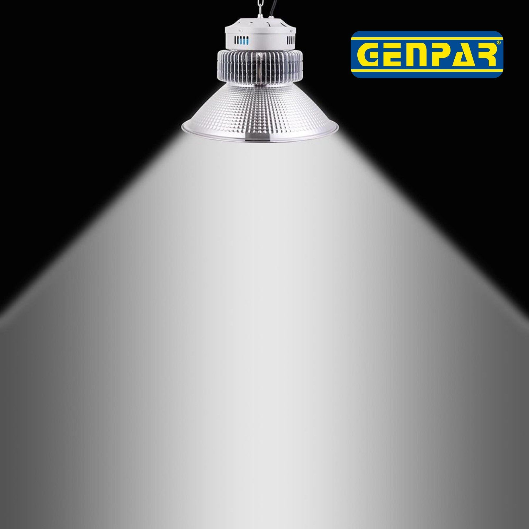 Genpar 200w High Bay Led Lighting Commercial Warehouse Hanging Industrial Grade Shop Area Workshop Garage Light Fixtures Garage Lighting High Bay Led Lighting