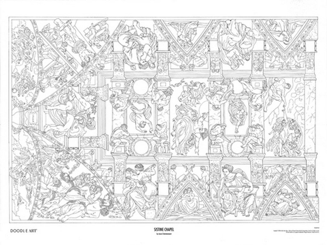 Pin On Michelangelo Coloring Pages