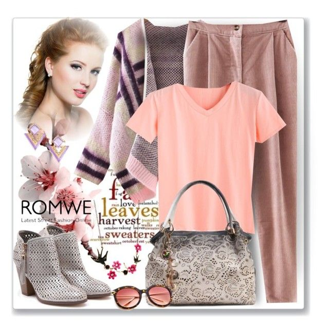 """www.romwe.com-XXV-"" by ane-twist ❤ liked on Polyvore"