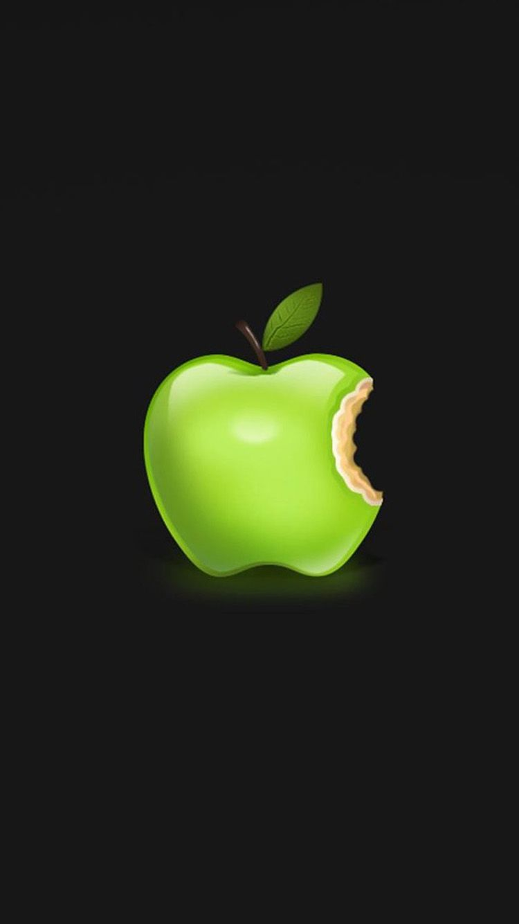 Green Apple Logo 01 Iphone 6 Wallpapers Hd Iphone 6 Wallpaper Apple Wallpaper Apple Iphone Wallpaper Hd Apple Logo Wallpaper Iphone