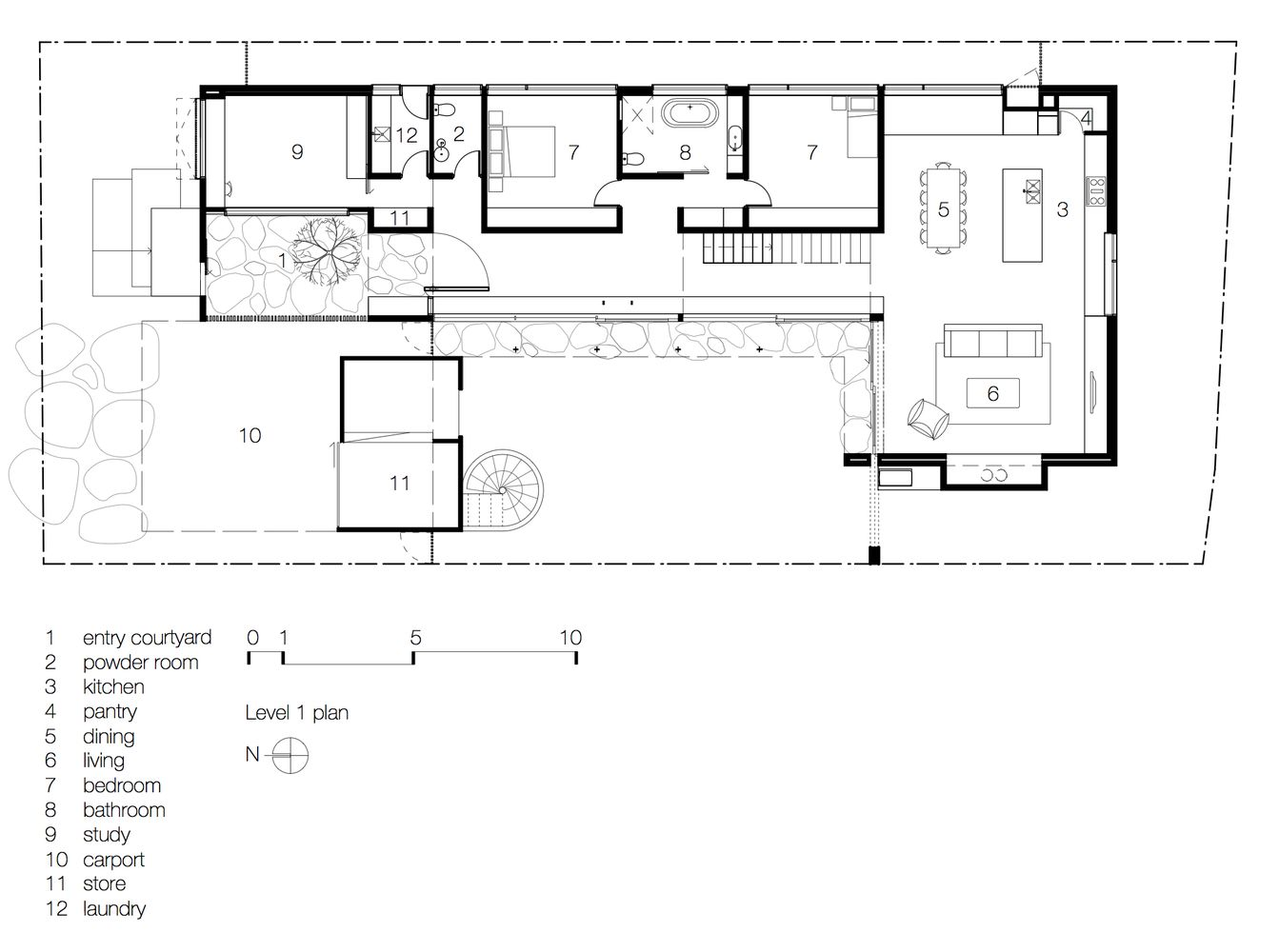 Gallery Of Torquay Concrete House Auhaus Architecture 12 With Images Concrete House Concrete Houses House Floor Plans