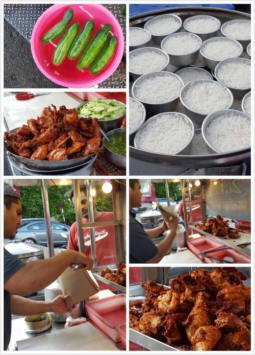 Zukis Nasi Kukus Ayam Berempah At Happy Cafe Taman Pekaka Food Guide Perfect Fried Chicken Halal Recipes