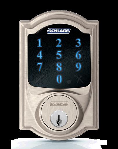 Schlage Connect Touchscreen Deadbolt Smart Lock