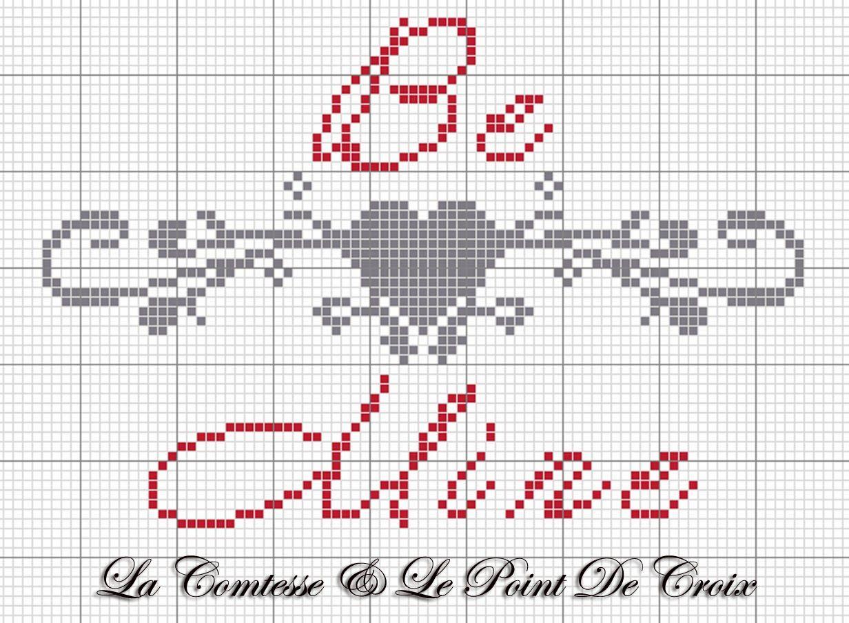 Lacomtesse&lepointdecroix: Be Mine | Mini cross stitch | Pinterest ...