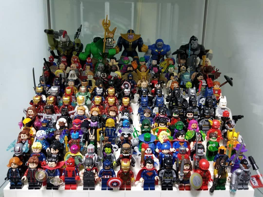 Big Minifigures Kingpin Figure Marvel DC Lego Moc Minifigure Gift For Kids