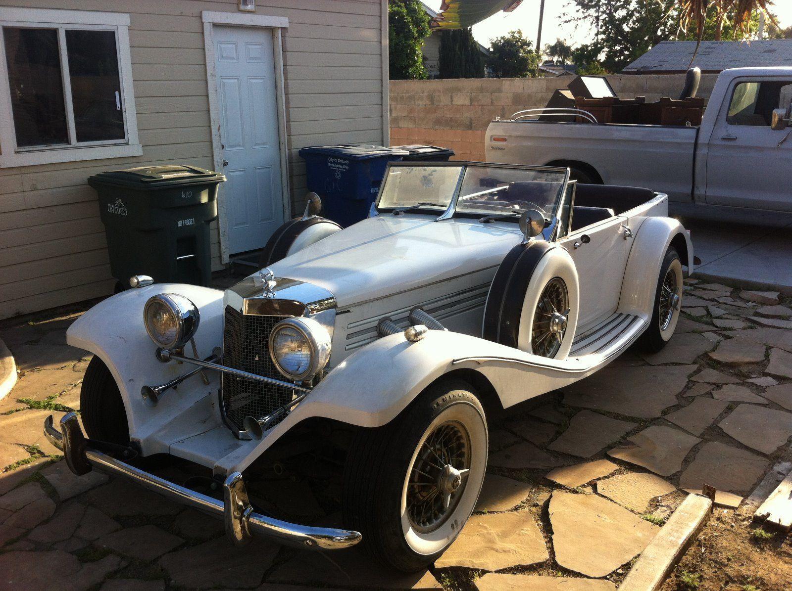 1936 Mercedes 500k Replica Drivable project | Replica cars for sale ...