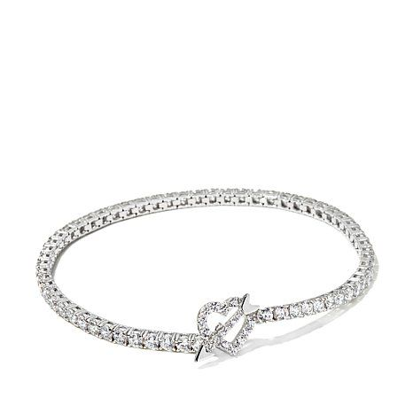 Jean Dousset 5 89ct Absolute Heart And Arrow Bracelet Clearance 55 95