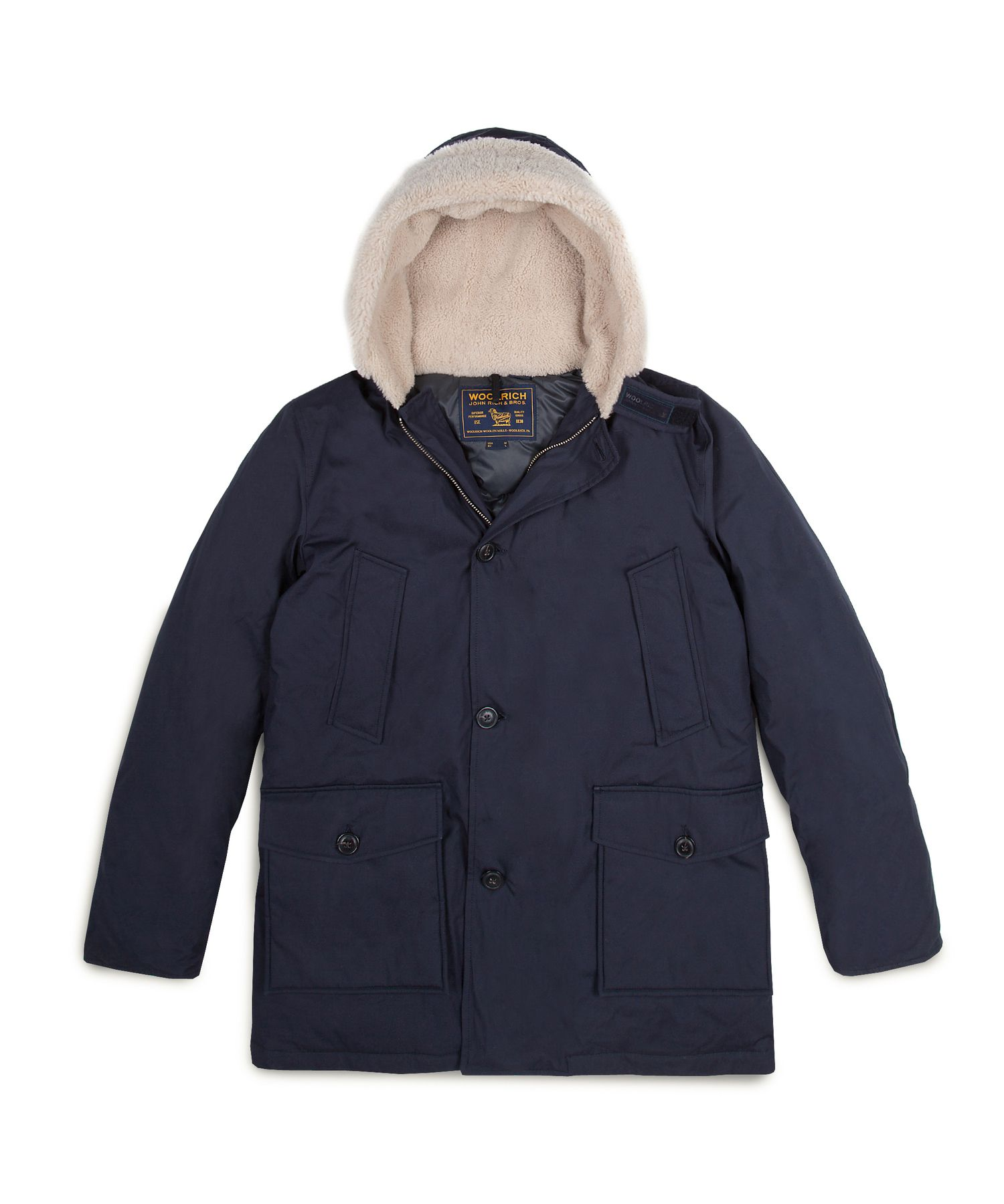 Shearling Arctic Parka by WOOLRICH® The Original Outdoor Clothing Company 10417f05093