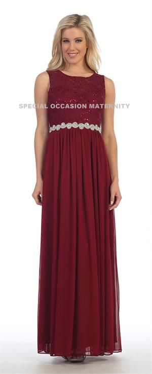 Plus Size Formal Maternity Dress Flattering For Everyone Long