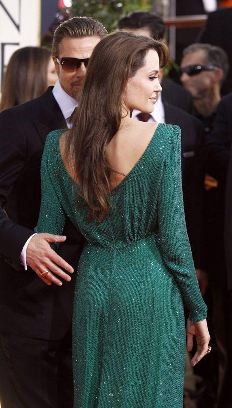 i love this dress   uhla-la!!!!!   Pinterest   Versace, Angelina ...