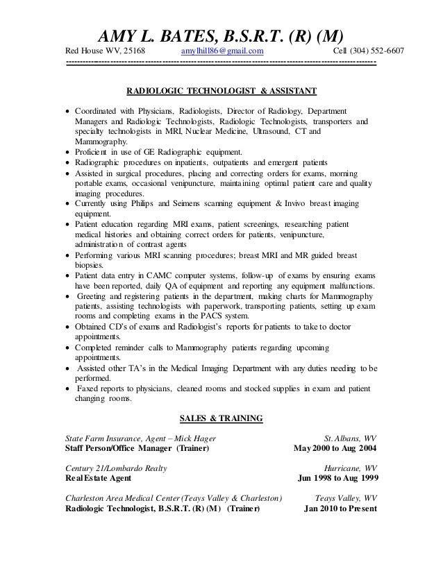 resume templates for x ray tech resume resumetemplates templates