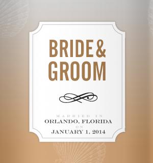 Wedding Koozie Design Ideas - Personal koozies for wedding drink are ...