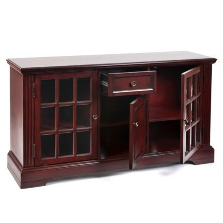 Charmant Wood Cherry Media Cabinet Is Perfect For Watching The Big Game On The Big  Screen Tv #kirklands #tailgatetime