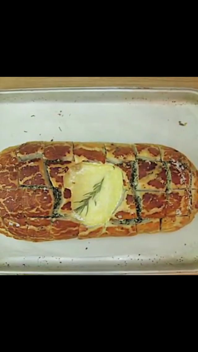 Camembert hedgehog bread- http://youtu.be/wgrblWAeAxo