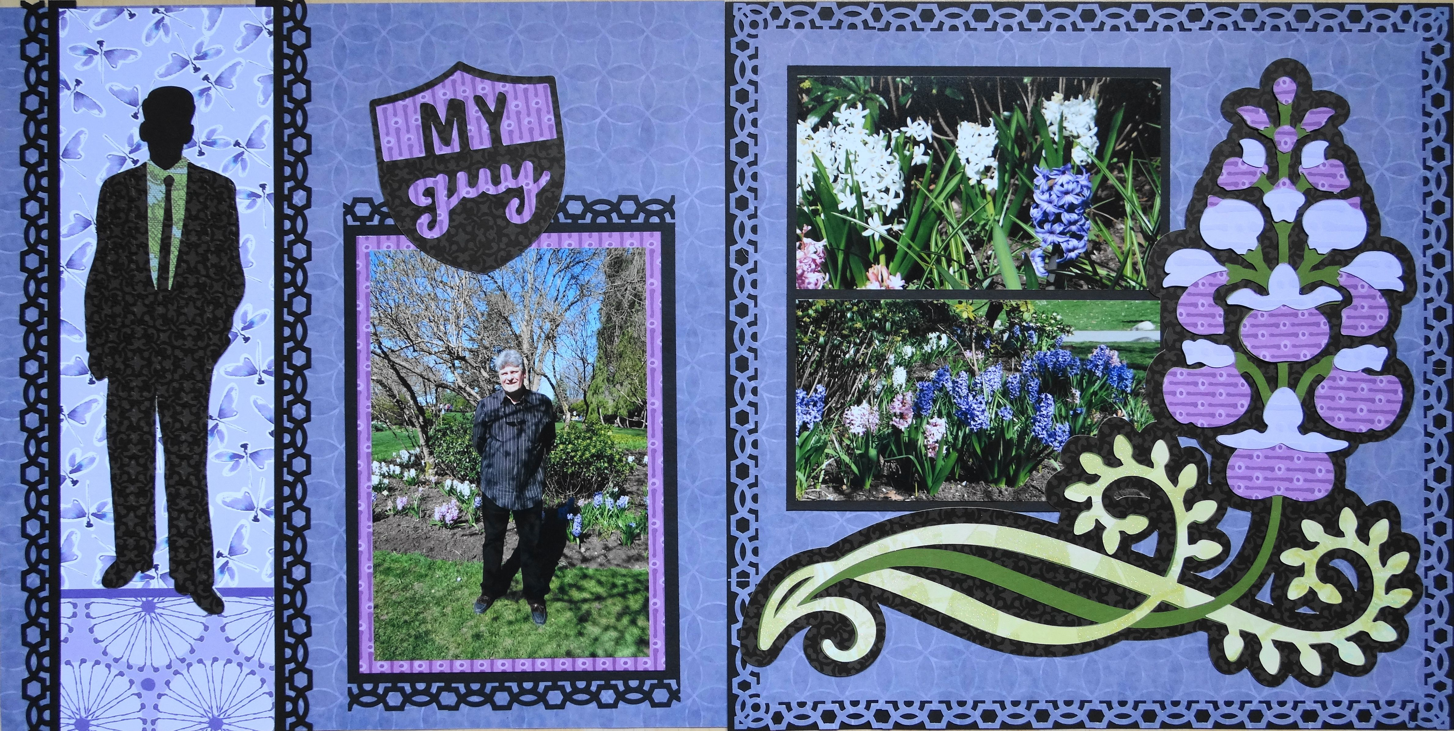 Scrapbook ideas man