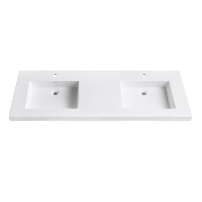 Avanity Vut61wt Versastone 61 Acrylic Vanity Build Com Bathroom Vanity Tops Bathroom Top Vanity Top 61 vanity top single sink