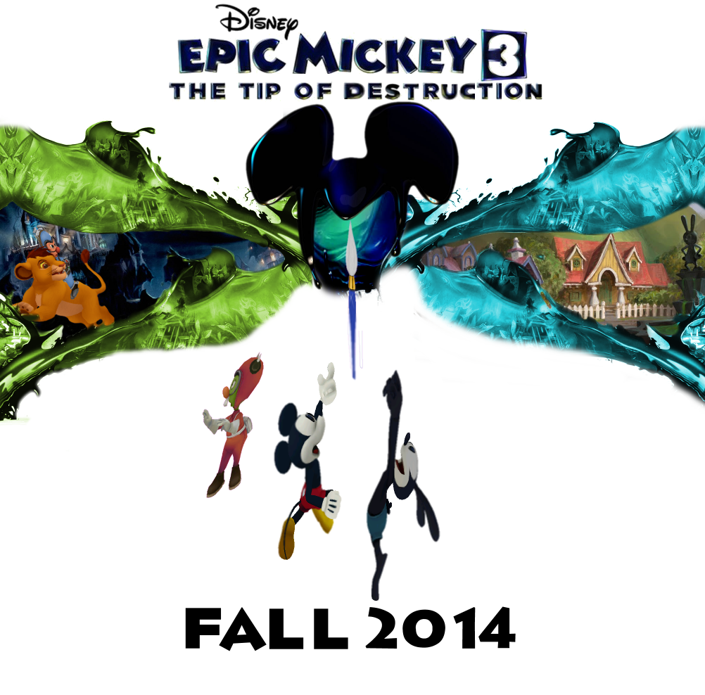 Epic Mickey 3, The Tip Of Destruction   Epic Mickey   Pinterest