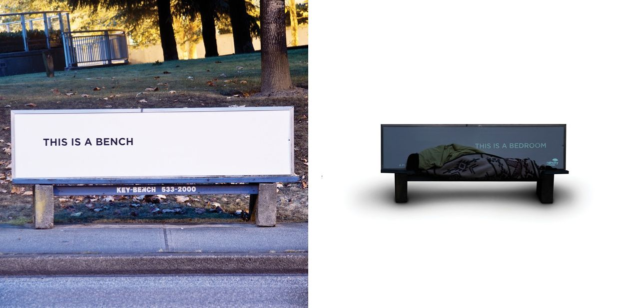 Bench To Bedroom Urban Furniture Turned Homeless Shelters Urban Furniture Homeless Shelter Urban