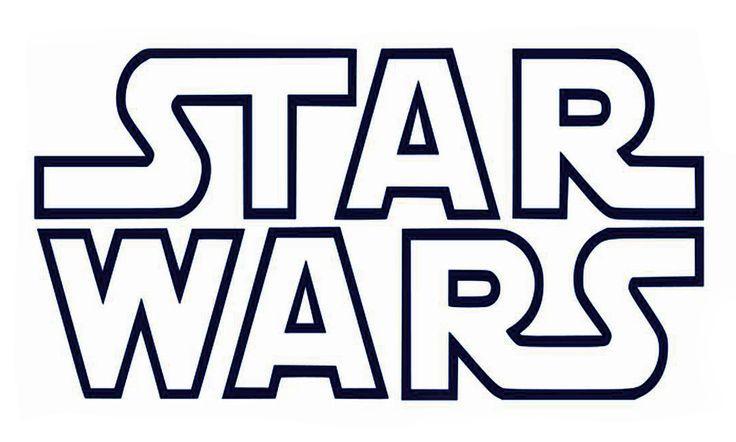 Printable B Star Wars Logo Coolest Free Printables Star Wars Stencil Star Wars Birthday Party Star Wars
