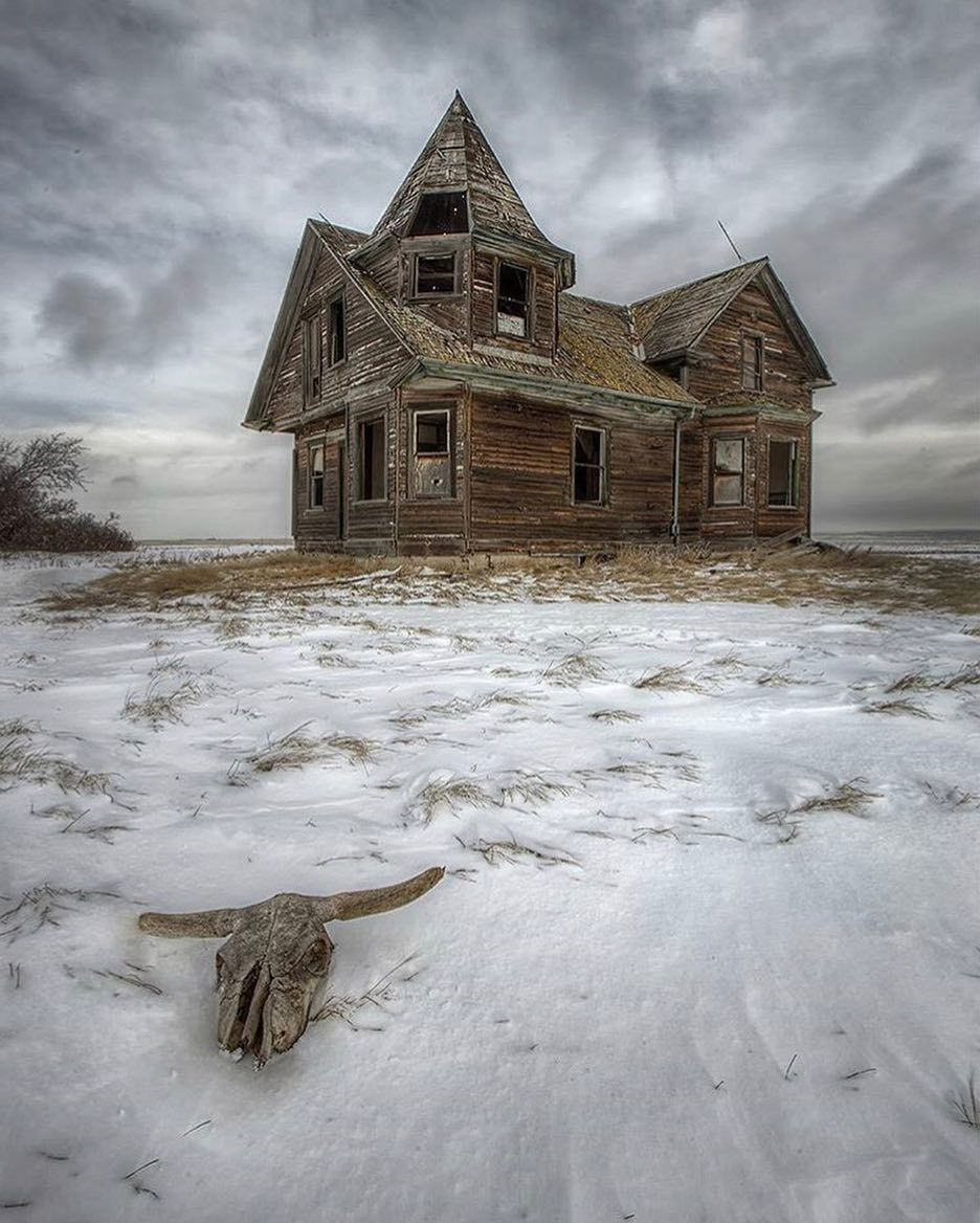 Old Abandoned Houses, Abandoned