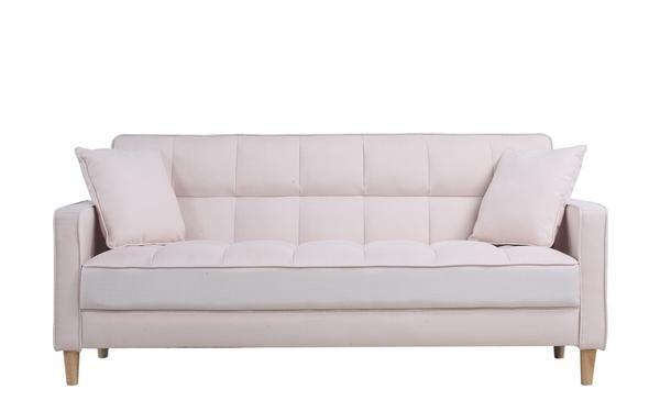 Incredible Solis Modern Linen Small Sofa Bed Linen Linen Sofa Sofa Inzonedesignstudio Interior Chair Design Inzonedesignstudiocom