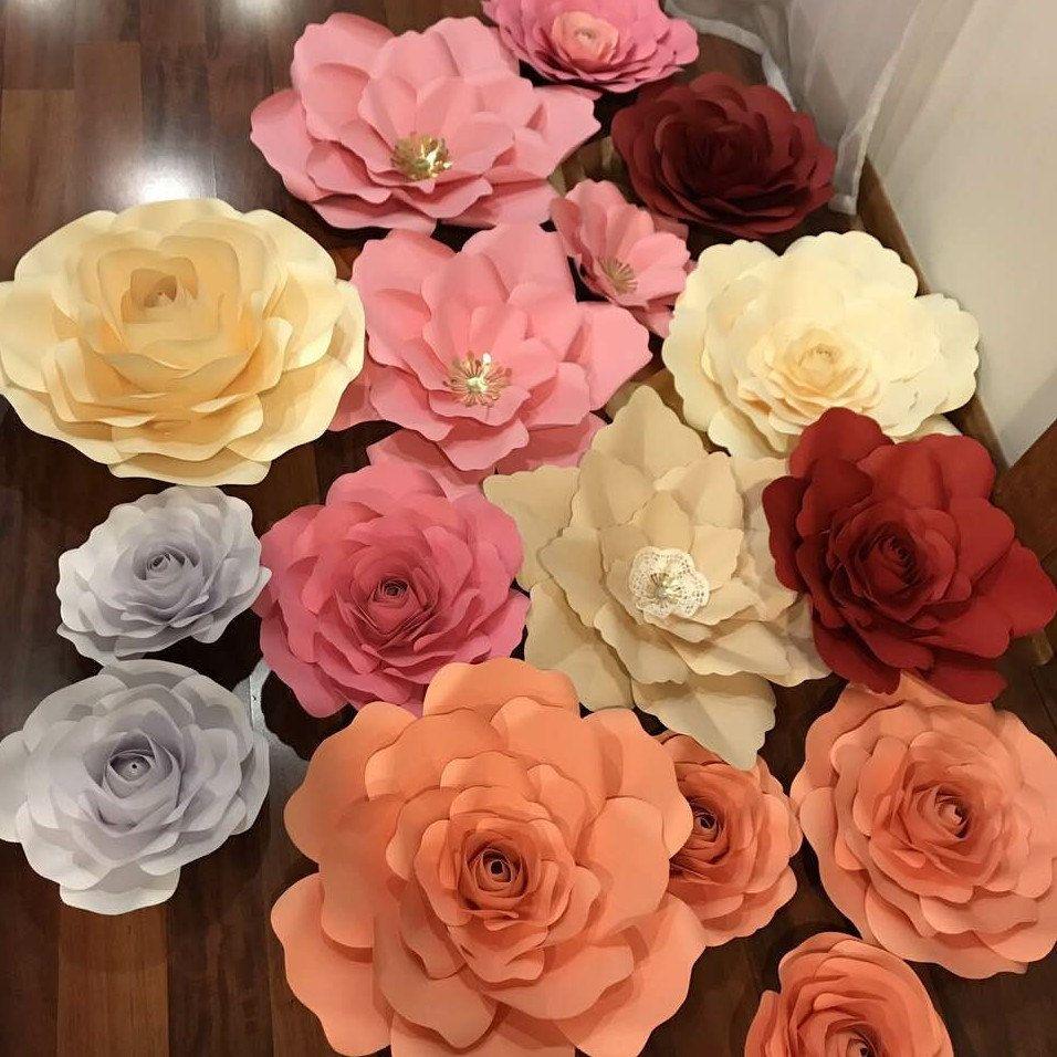 Thecraftysagannie Shared A New Photo On Paper Flower Diy Videos