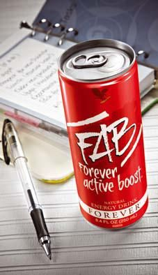 Forever Active Boost Natural Aloe Vera Energy Drink Aloe