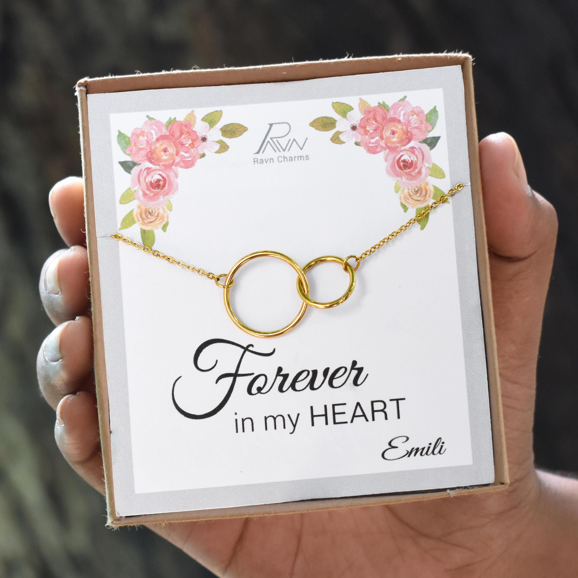Personalized gift for her necklace gift ideas for