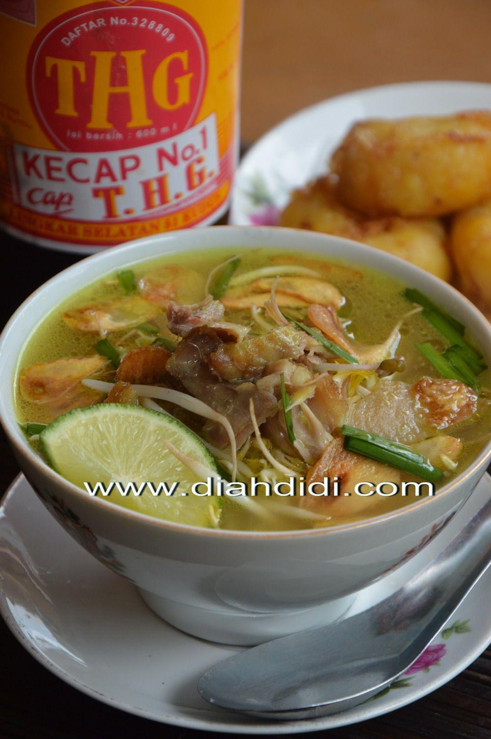 Diah Didi S Kitchen Soto Kudus Recipes Pinterest