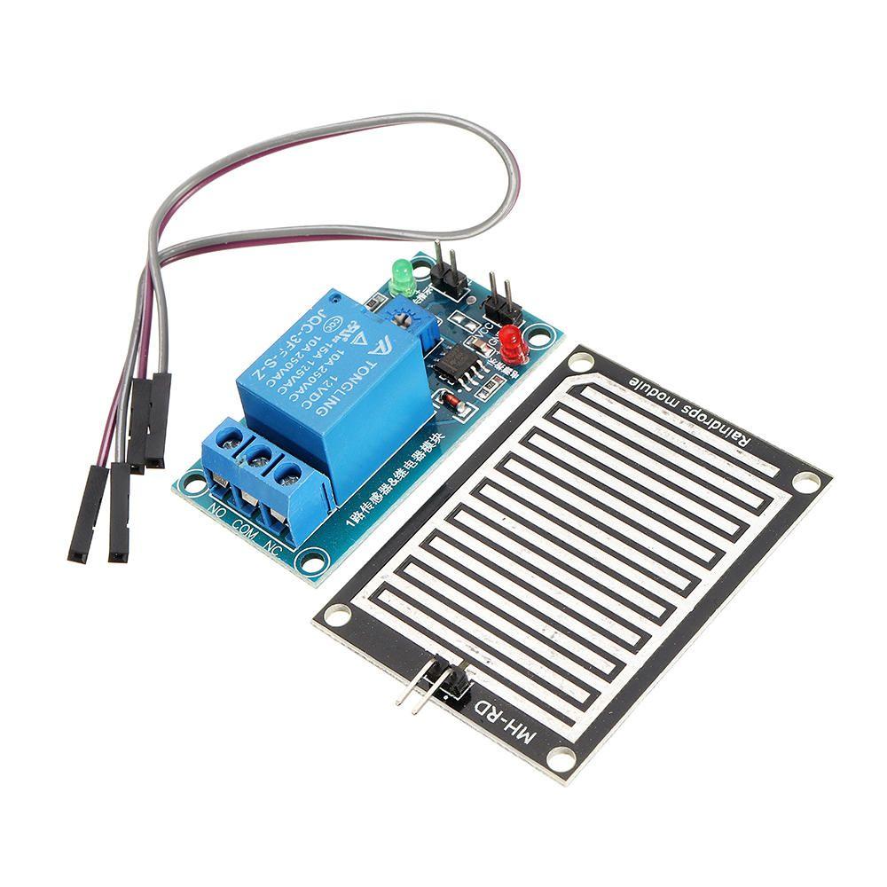 12V Raindrop Controller Relay Module Foliar Humidity