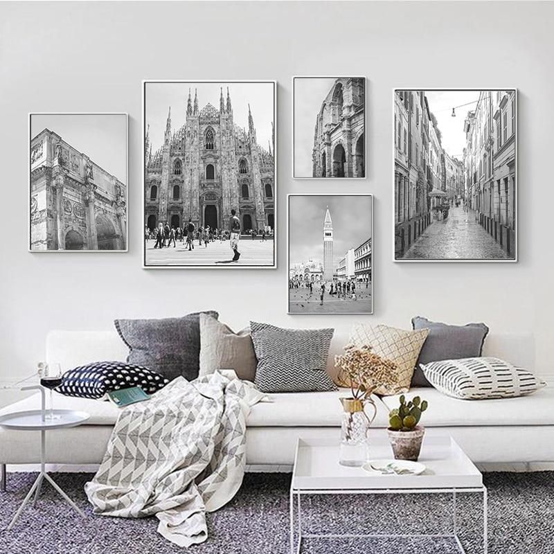 Big Cities Canvas Print Kids Wall Decor Cities Canvas City Decor