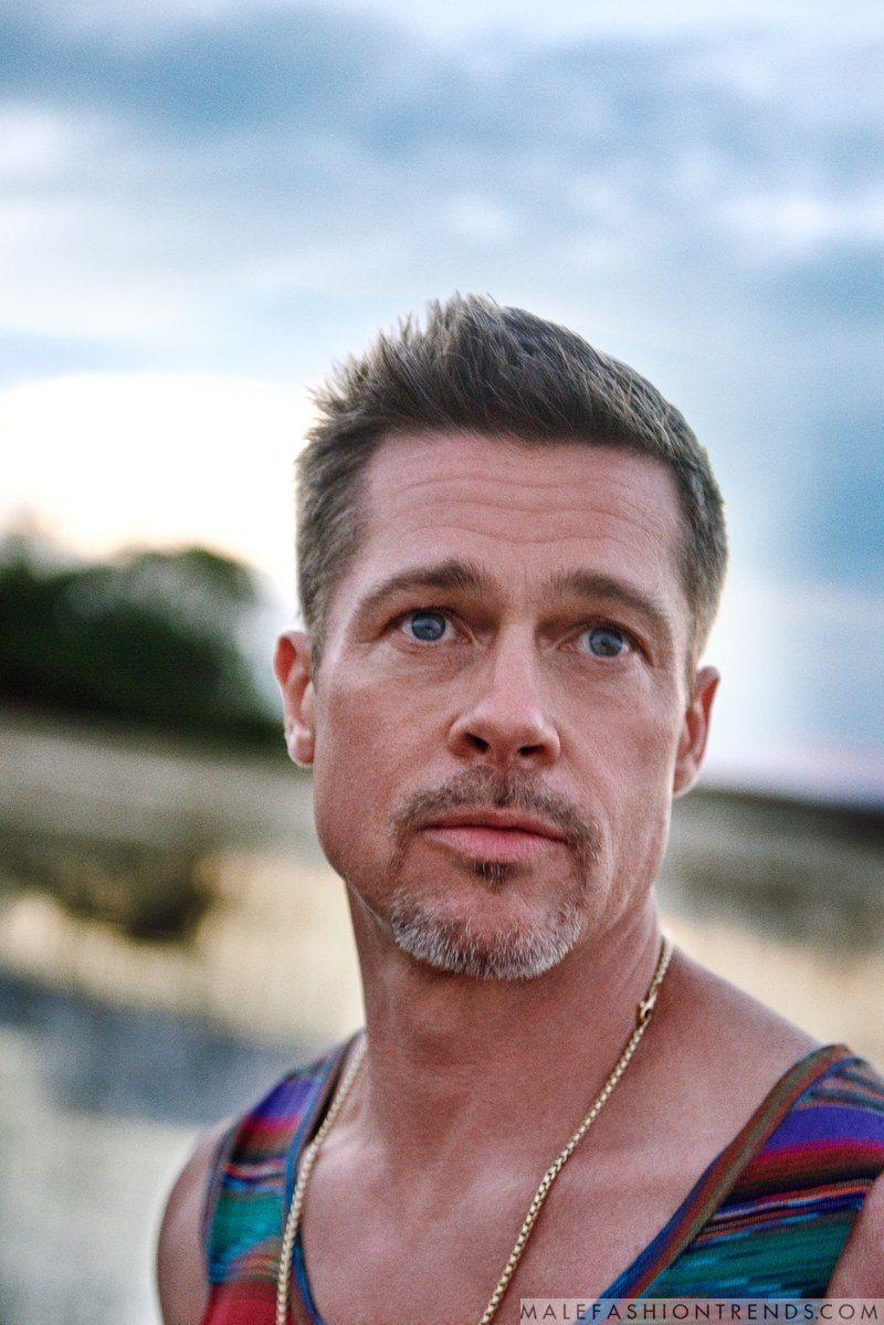 Brad Pitt para GQ Style Magazine Summer 2017 por Ryan McGinley ...