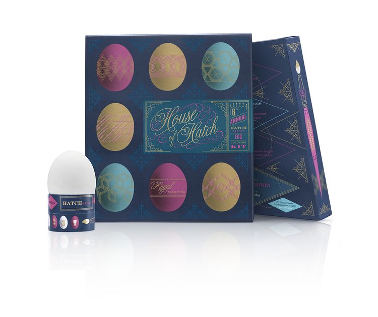 8th Annual Hatch Egg Kit — The Dieline - Package Design Resource