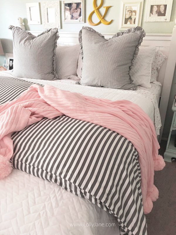 How to Layer a Coverlet Like a Boss Bedding master