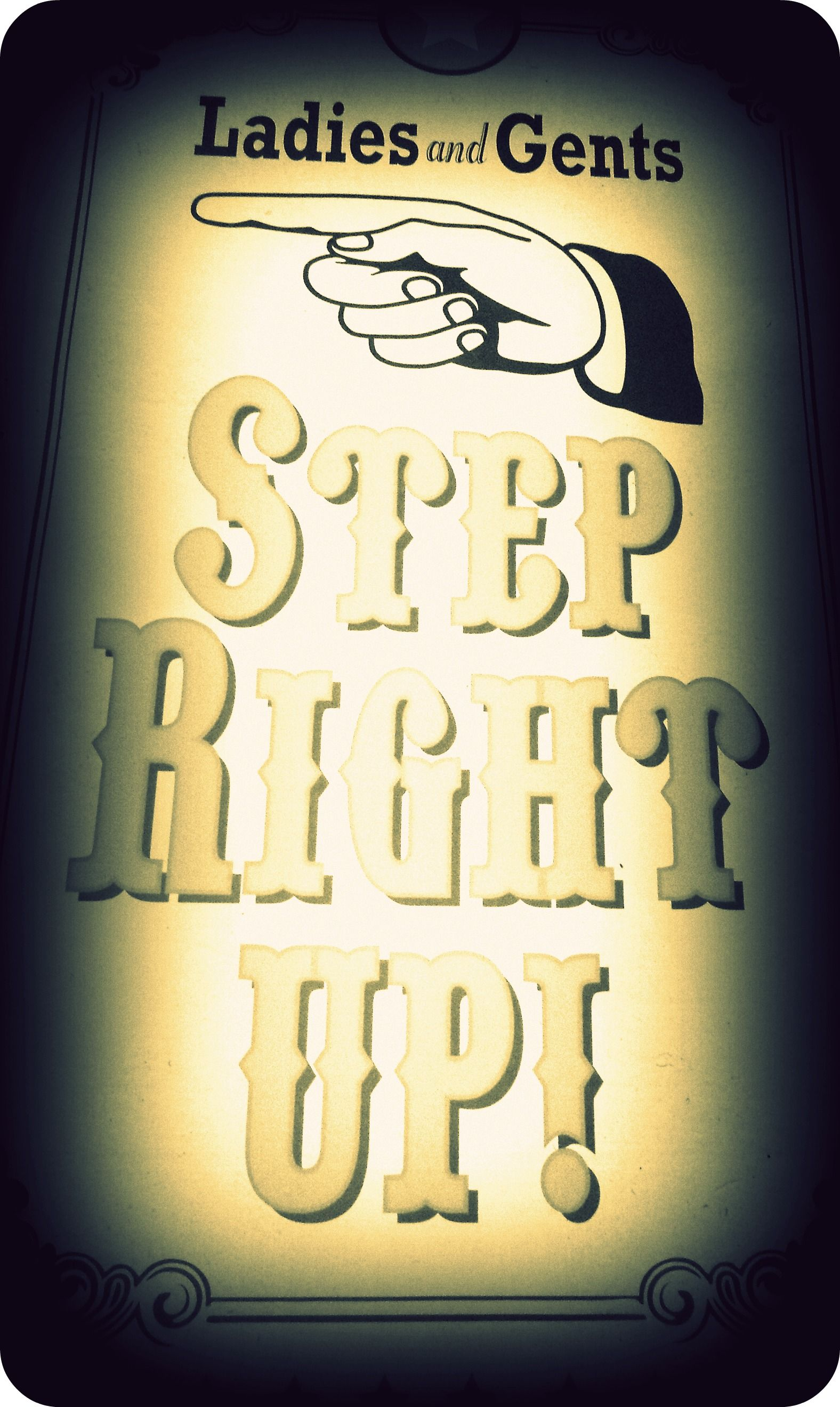 Step Right Up - TO DIIEEE!!