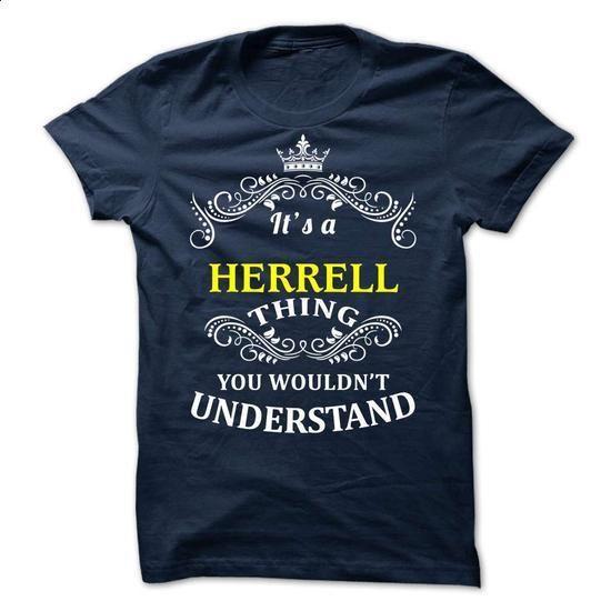HERRELL it is - #v neck tee #pullover hoodie. BUY NOW => https://www.sunfrog.com/Valentines/-HERRELL-it-is.html?68278