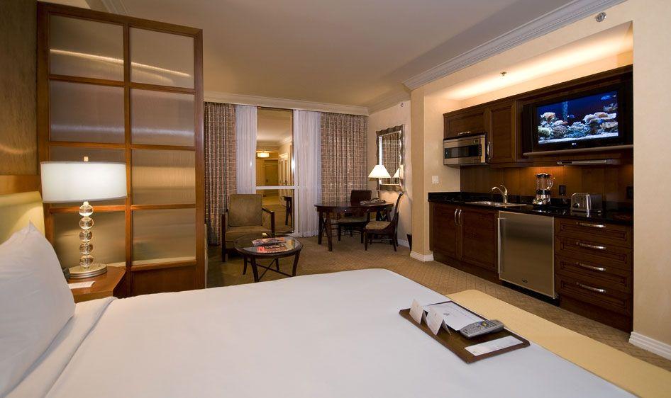 Bedroom Fancy 2 Bedroom Suites Las Vegas With Big Beds As Bedroom Ideas For Couple Using Mini Kitchen And Kit 2 Bedroom Suites Luxury Hotel Room Bedroom Suite