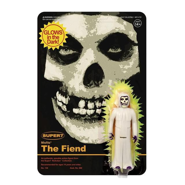 "The Misfits /""Earth A.D./"" Misfits Fiend 3.75/"" REACTION Figure Super 7"