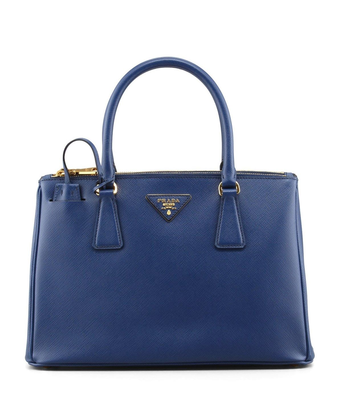 5112f55b0aa2 PRADA Saffiano Leather Tote Handbag Bluette .  prada  bags  shoulder bags   hand bags  leather  tote  lining