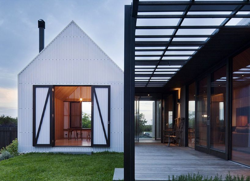 jackson clements burrows architects: seaview house in australia. simple materials and forms