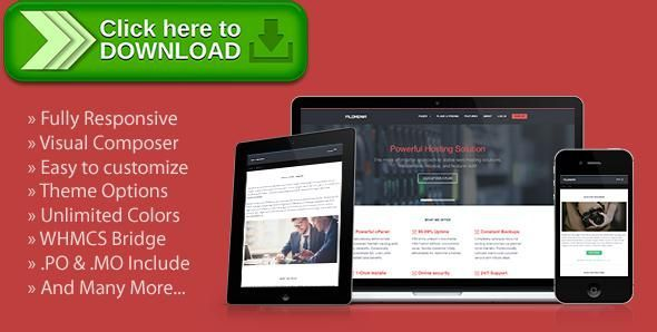 ThemeForest]Free nulled download Filoxenia - WordPress Hosting Theme ...