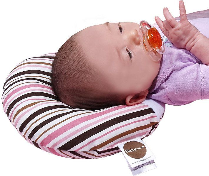 """The Giggle Guide® - Babymoon Pillow Provides Relief for """"Flat Head"""""""