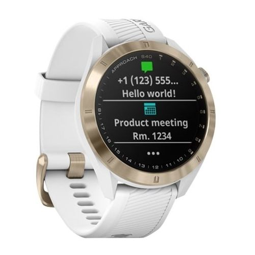 Garmin Approach S40 GPS Watch White Smart watch