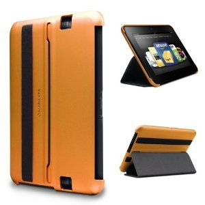 Orange Marware MicroShell Folio Lightweight Standing Case for Kindle Fire HD 7 only fits Kindle Fire HD 7