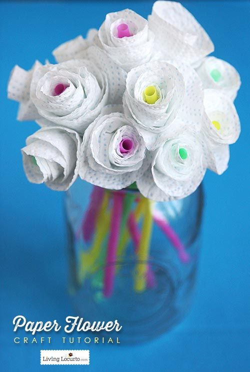 Paper flower craft tutorial how to add color to your home this is paper flower craft tutorial how to add color to your home this is such mightylinksfo Choice Image