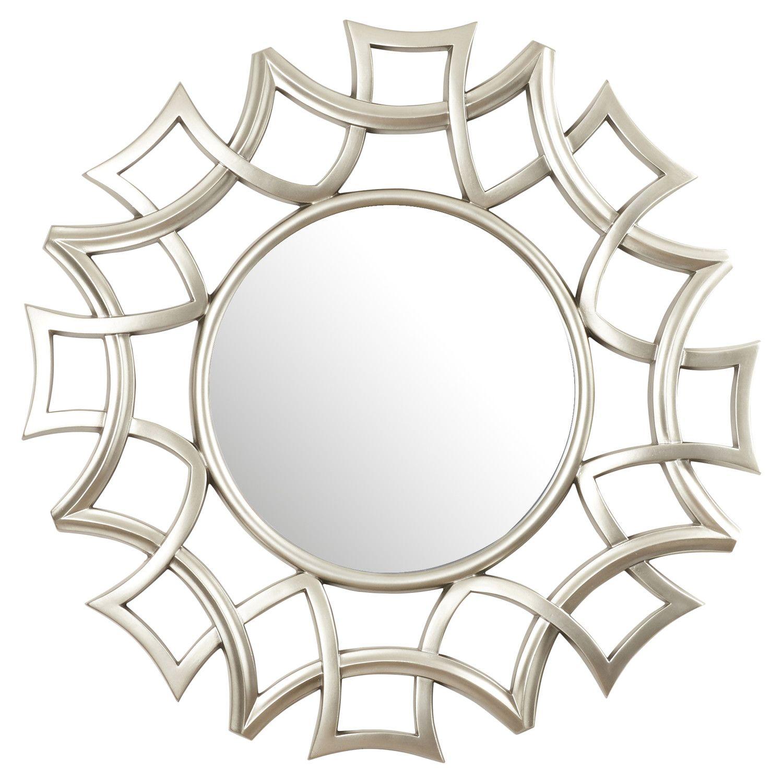 Wire capiz sunburst wall mirror - House Of Hampton Hardy Starburst Wall Mirror